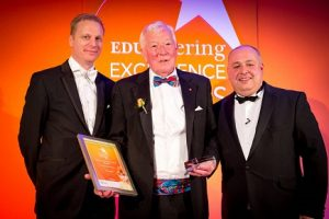 Members in the News – Vic Laws MBE wins EDUcatering Lifetime Achievement Award 2017
